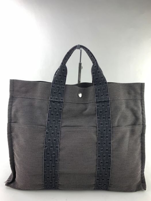 Hermès - Unisex Herline H Canvas Big Tote bag