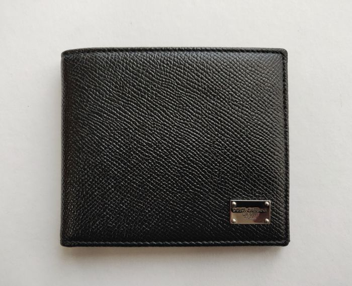 Dolce & Gabbana - Dauphine 6CC Leather Wallet - Made in Italy Cartera