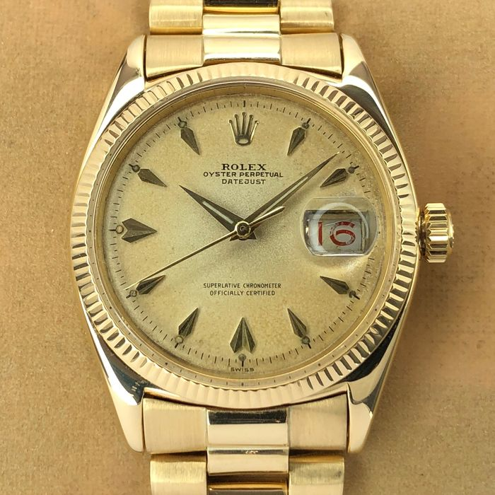 Rolex - Datejust 18k - 6605 - Men - 1958