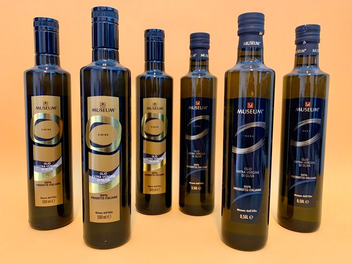 Museum - Extra virgin olive oil - 6 - 500 ml