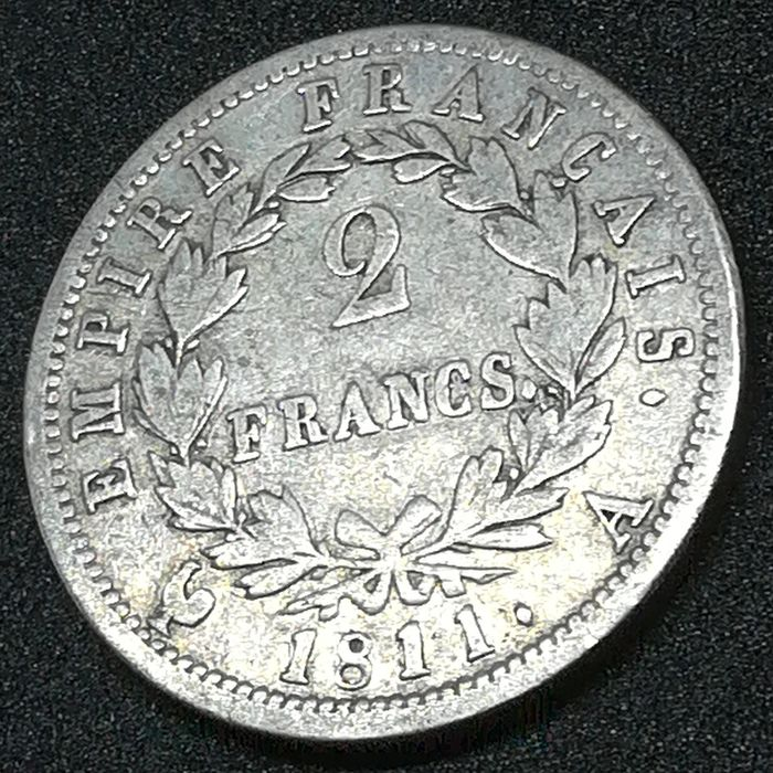 France. 2 Francs 1811-A, Paris