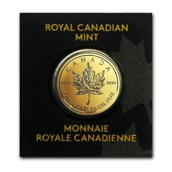 Canada. 50 Cents 2020 Gold Maplegram