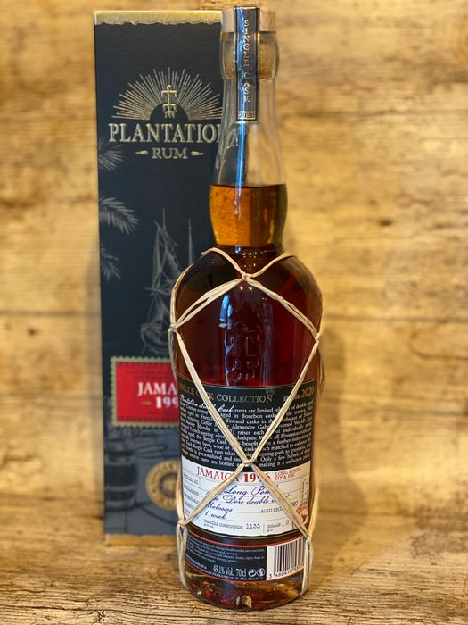 Plantation 1996 23 years old - Jamaica - Long Pond - 70cl