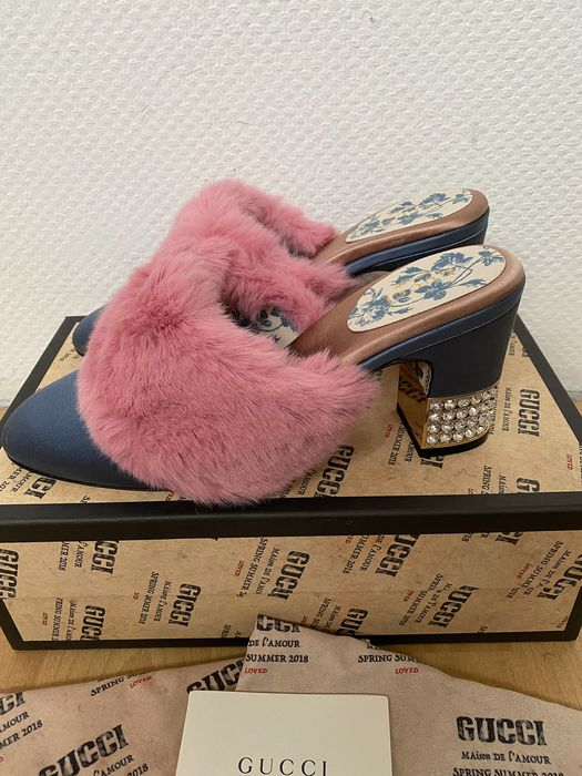 Gucci - Pantoufles - Taille: Chaussures / UE 40