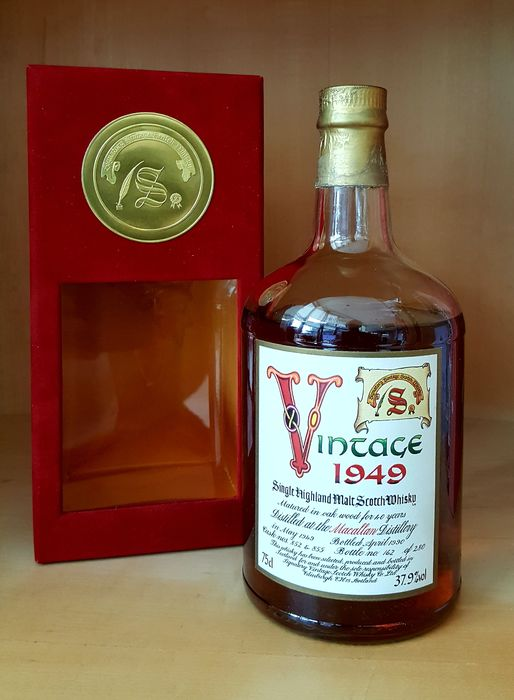 Macallan 1949 40 years old - under proof - Signatory Vintage - b. 1990 - 75cl