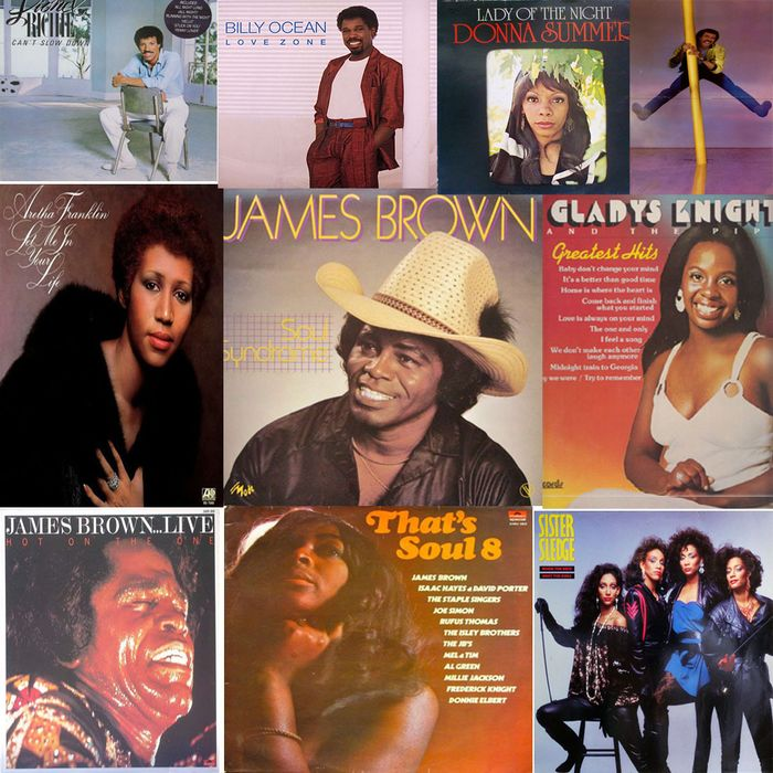 Various Artists/Bands in Soul - Multiple artists - Multiple titles - 2xLP Album (double album), LP's - 1972/1986