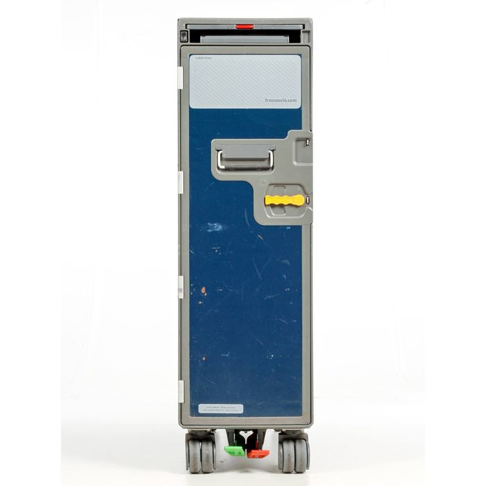 Norduyn - Airplane serving trolley - Full size Transavia flight trolley with 4 drawers
