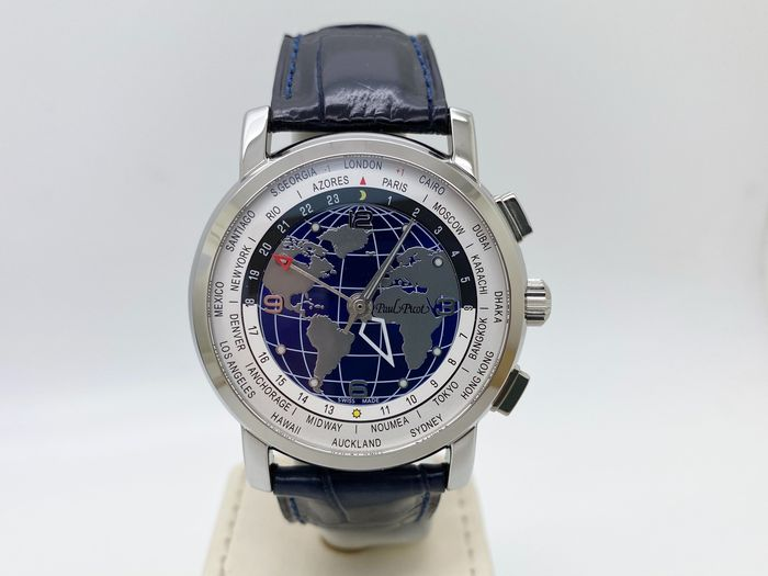 Paul Picot - World Time - 0482SG - Unisex - 2011-present