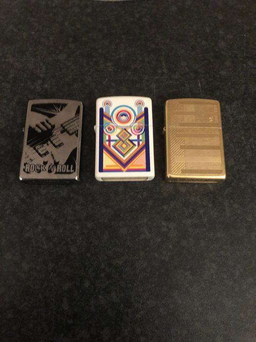 Zippo - Limited edition - Incomplete collection of 3