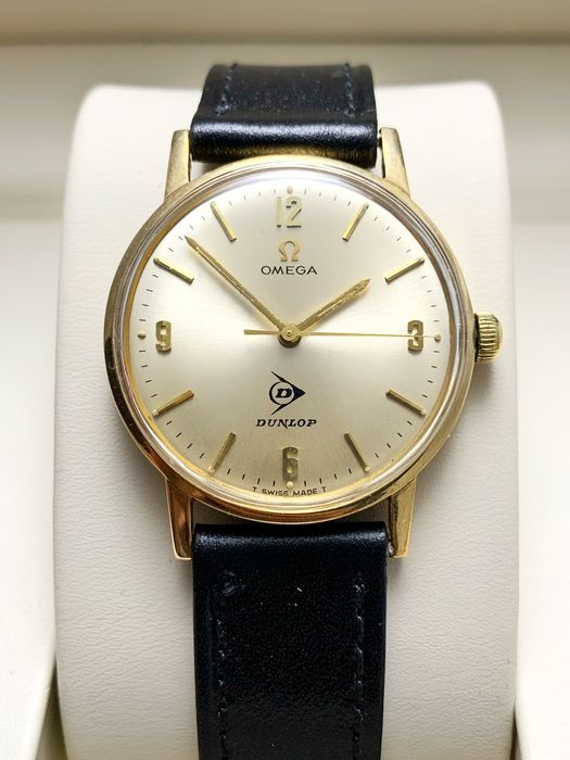 Omega - Dress watch – 9 kt gold – Special Dunlop edition - Men - 1960-1969
