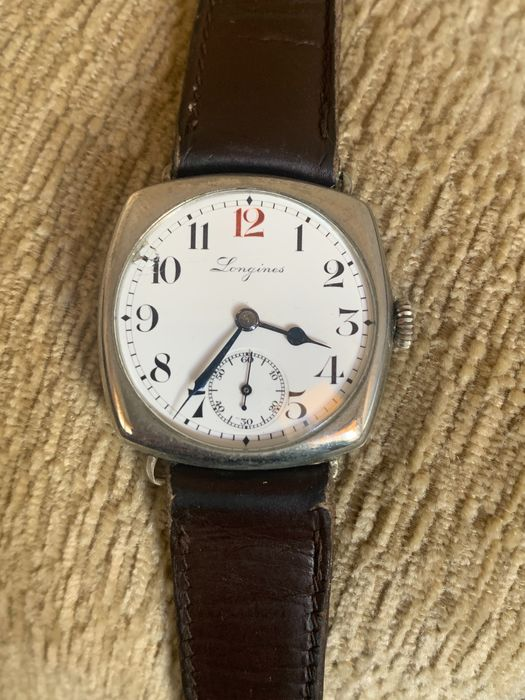 "Longines - Cushion - ""NO RESERVE PRICE"" - 3306549 - Men - 1901-1949"