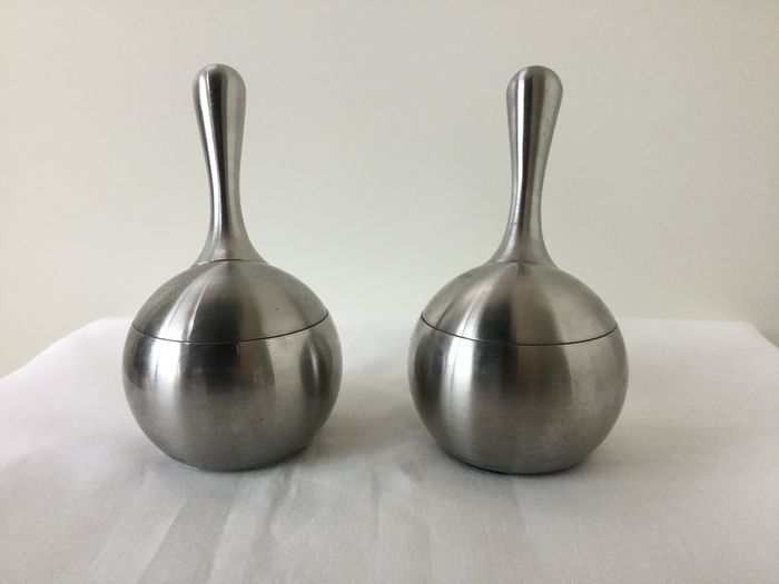 Georg Jensen - salt & pepper mill (2) - Twist