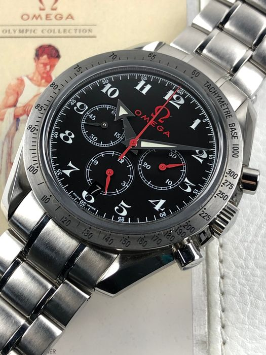 "Omega - Speedmaster Broad Arrow Olympic Edition - 35565000 - ""NO RESERVE PRICE"" - Men - 2000-2010"