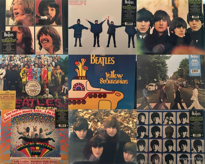 Beatles - Collection of 13 LP's in Mint Condition  - LP's - 2012/2017