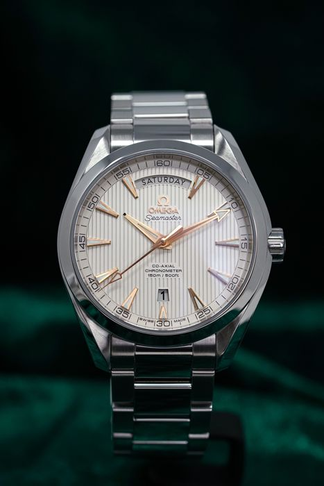 "Omega - Seamaster Aqua Terra 150M Co-Axial Day-Date - 231.10.42.22.02.001 ""NO RESERVE PRICE"" - Men - BRAND NEW"