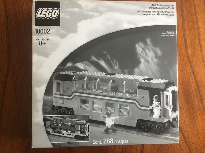 LEGO - Train - 10002 - carro Metroliner club car - 2000-presente