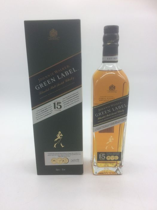 Johnnie Walker 15 years old Green Label - 70cl