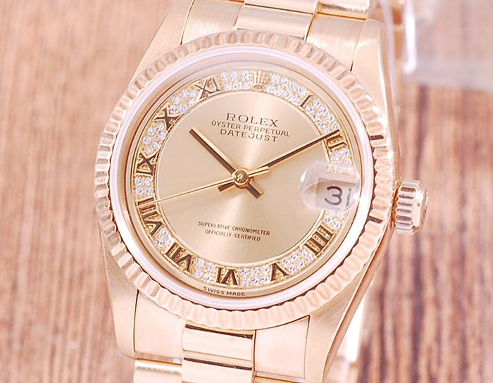 Rolex - Oyster Perpetual DateJust - 68278 - Women - 1990-1999
