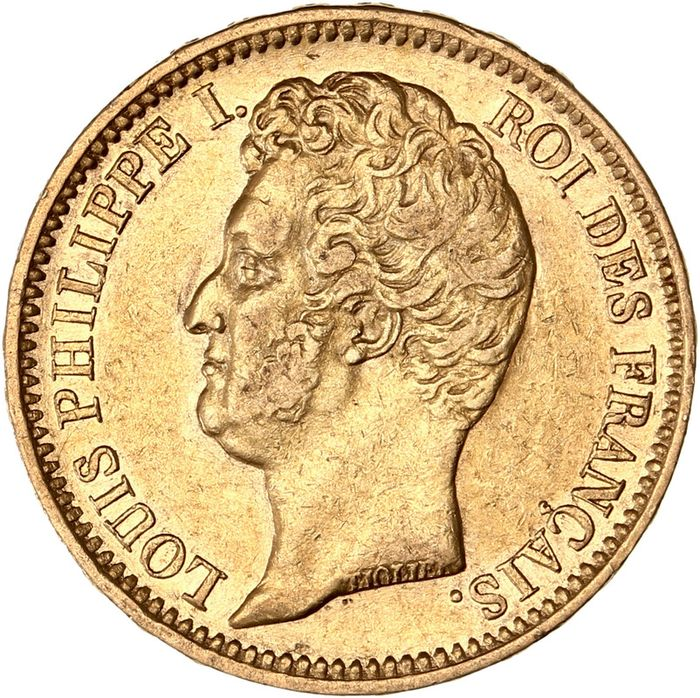 Frankrijk. Louis Philippe I (1830-1848). 20 Francs 1831-A, Paris
