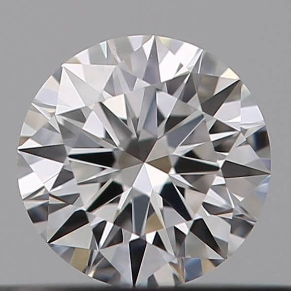 1 pcs Diamante - 0.21 ct - Brillante - E - IF (Inmaculado), ***Heart & Arrows*** no reserve