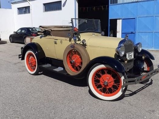 Ford - Model A Roadster - 1929
