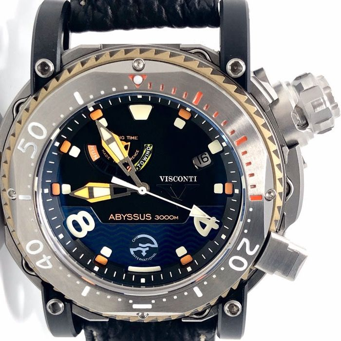 "Visconti - Abyssus Pro Dive 3000 INOX LIMITED EDITION - W108-00-123-1408 ""NO RESERVE PRICE"" - Herren - NEW"