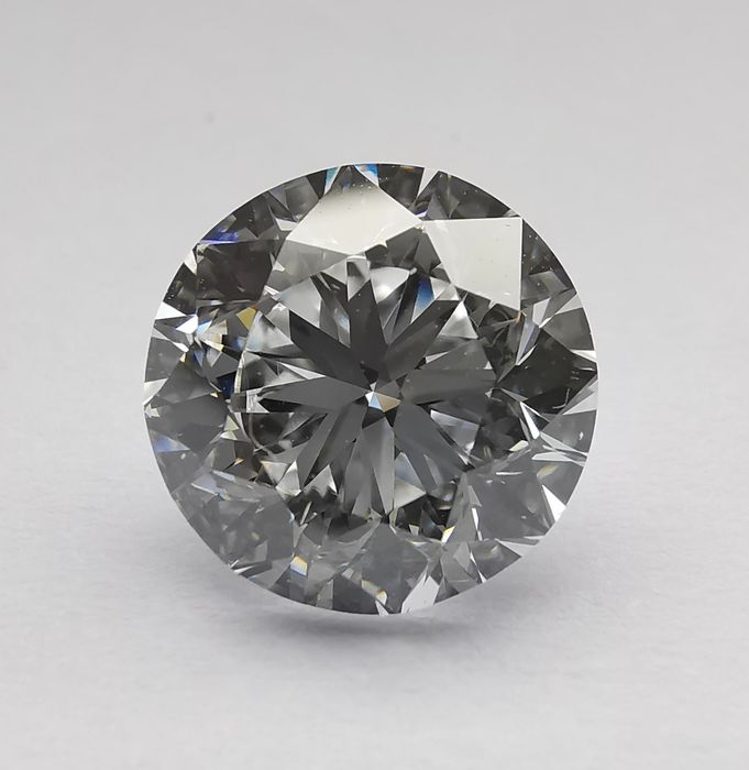 1 pcs Diamond - 3.01 ct - Brilliant - D (colourless) - IF (flawless)
