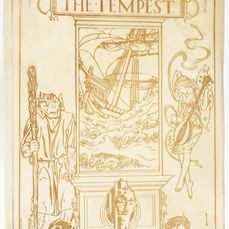 William Shakespeare / R. Anning Bell (illustrator) - The Tempest. Signed, limited edition. Vellum binding - 1901
