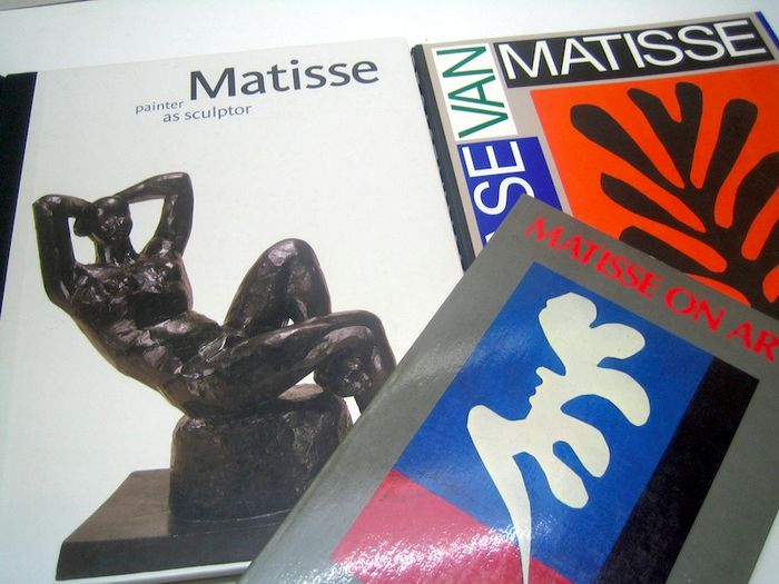 Henri Matisse - Lot with 3 books - 1978/2015