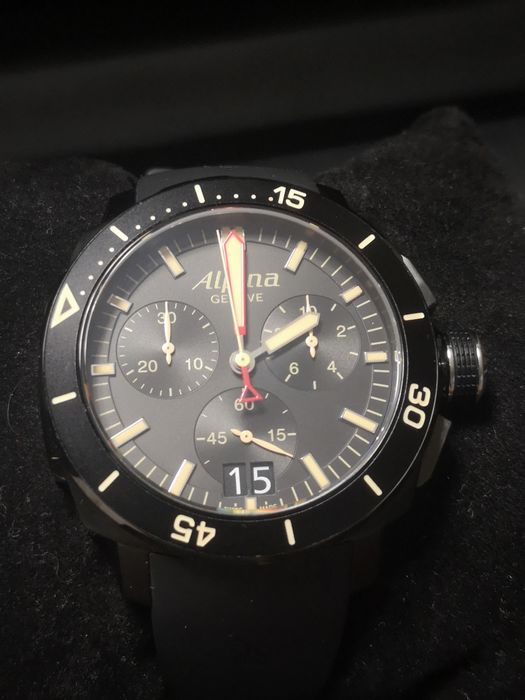 Alpina - seastrong diver chrono - AL372X4V6 - Men - 2011-present
