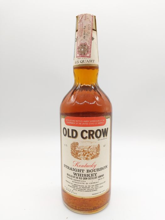 Old Crow - b. late 1960s early 1970s - 75cl