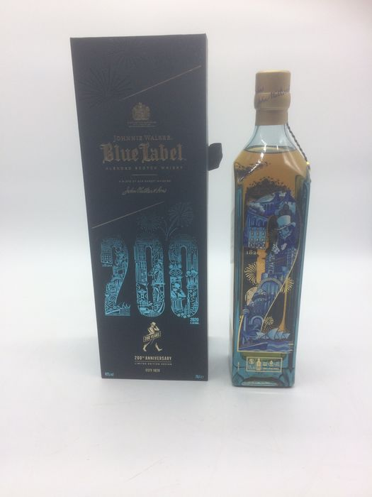 Johnnie Walker Blue Label 200th Anniversary Limited Edition - b. 2020 - 70cl