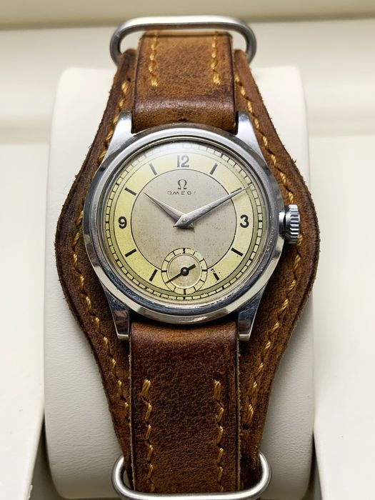 Omega - Vintage 40's Cal. 26.5 - Military Style - Two tone Dial - Men - 1901-1949