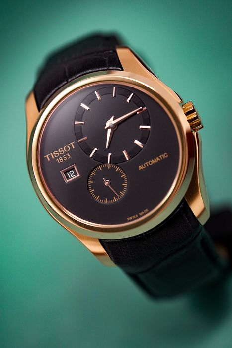 """Tissot - Couturier Small Second Rose Gold """"NO RESERVE PRICE"""" - T0354283605100 - Men - Brand New"""