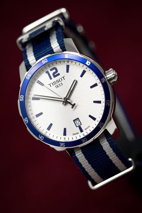 "Tissot - Quickster Date Blue ""NO RESERVE PRICE"" - T0954101703701 - Men - Brand New"