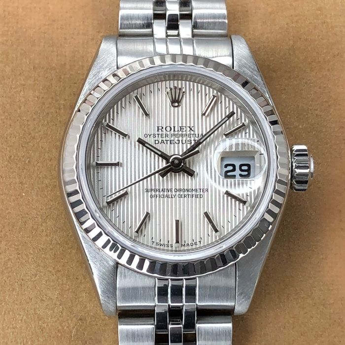 Rolex - Datejust Lady Tapestry Dial - 79174 - Women - 1999