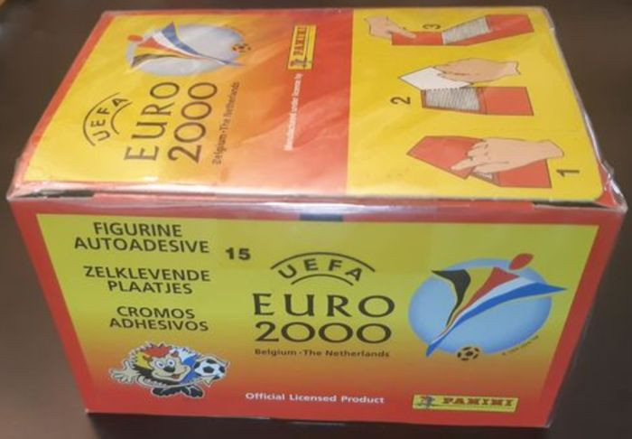 Panini - Euro 2000 Belgium/Netherlands - Caja sellada original with 100 mint packs