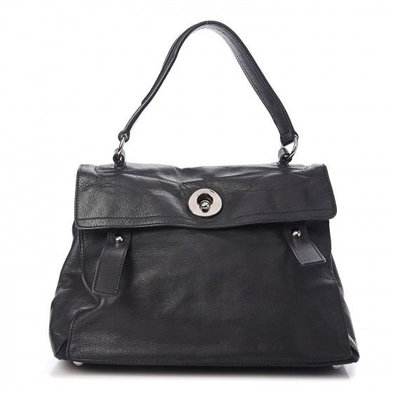 Yves Saint Laurent - Calfskin Muse Two Medium Borsa a mano