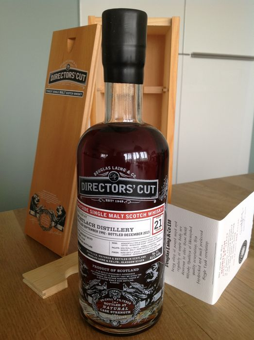 Mortlach 1992 21 years old Directors' Cut - Douglas Laing - 70cl