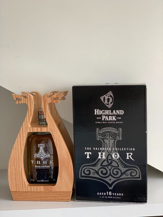 Highland Park 16 years old Thor - The Valhalla Collection - Original bottling - 700ml