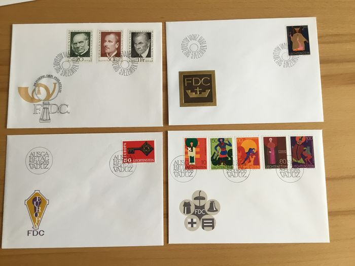 Liechtenstein - Collection from subscription
