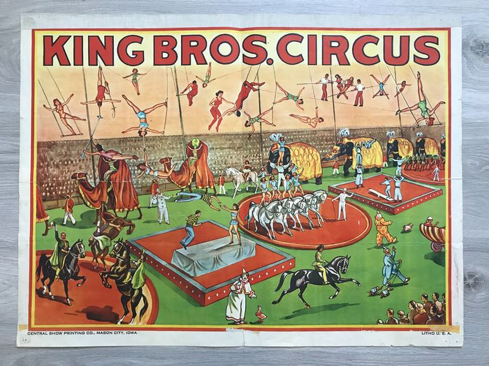 Onbekend - King Bros. Circus U.S.A.