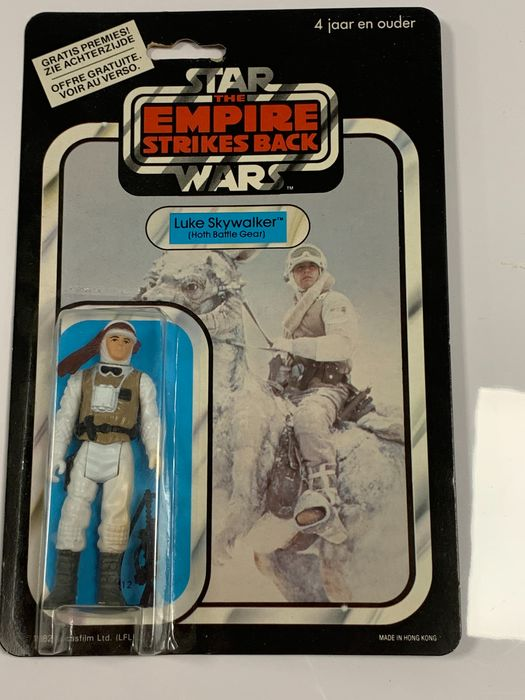 Star Wars - The Empire Strikes Back - Vintage - 1982 - No.  69610 Luke Skywalker ( Hoth Battle Gear)