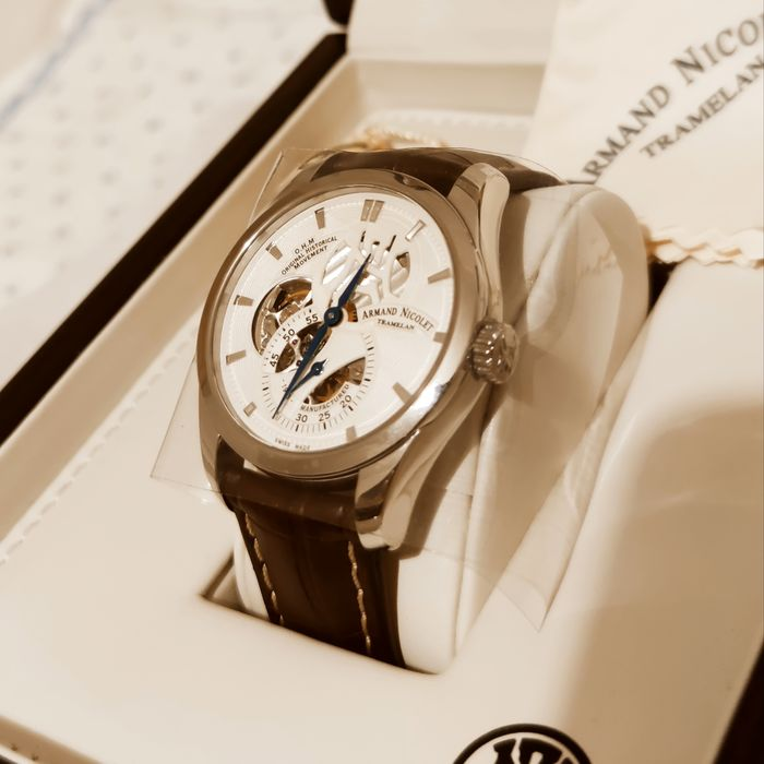 Armand Nicolet - L16 Small Seconds Limited Edition - A132AAA-AG-P713MR2 - Men - 2011-present