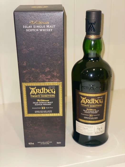 Ardbeg 23 years old Twenty Something - Original bottling - 750ml
