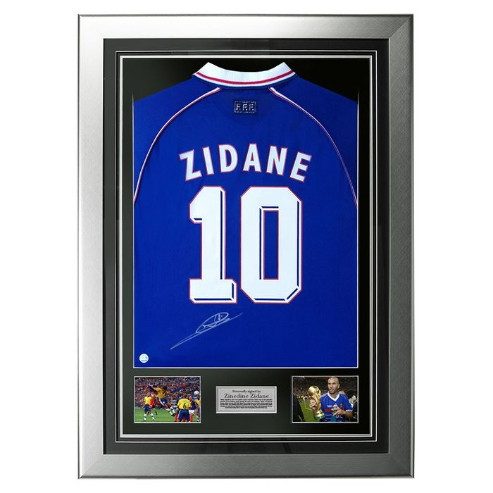 France - Football World Championships - Zinedine Zidane - 1998 - Jersey