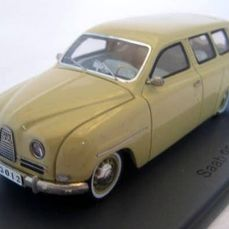 Neo Scale Models - 1:43 - SAAB 95 Beige 1961 - Limited Edition - Mint Boxed - Ausverkauft