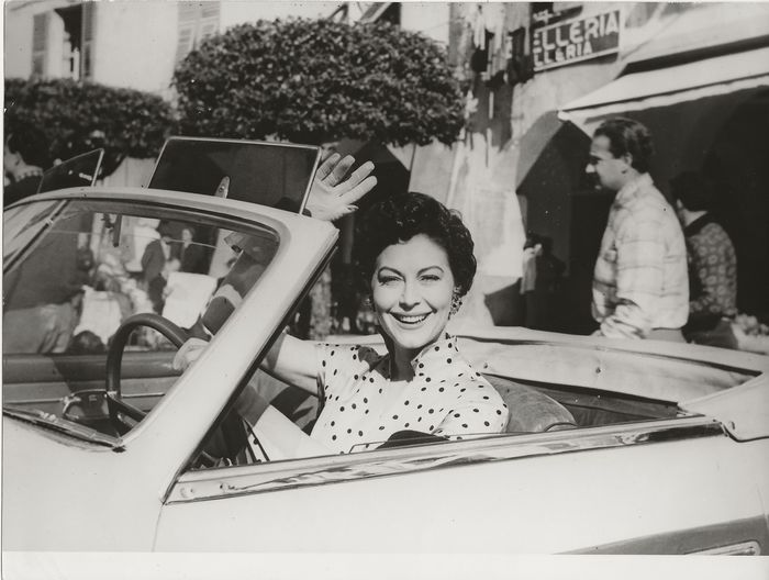 United Artists - Ava Gardner, American actress, Hollywood Beauty, San Remo, 1954