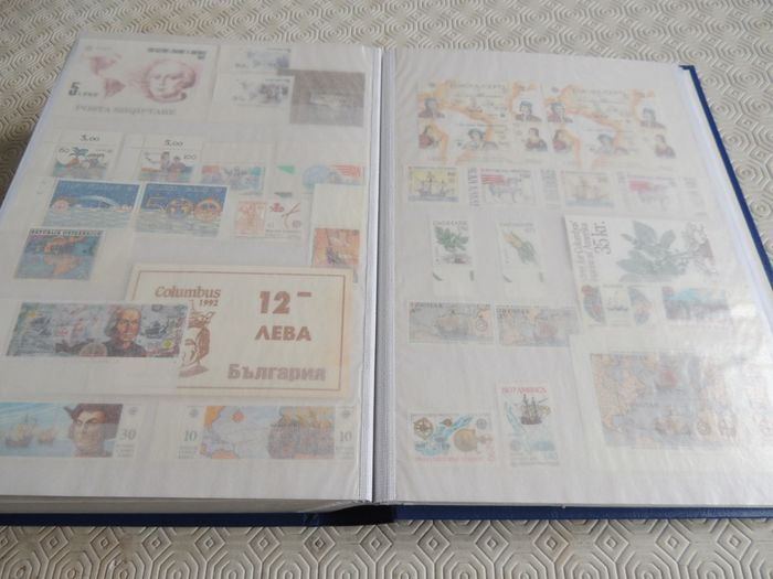 Europa (cept) 1981/1992 - Very advanced collection with doubles in a large binder