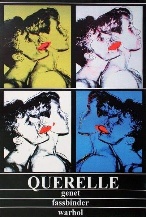 Andy Warhol - Querelle - reprinted - 1980 - Anni '80